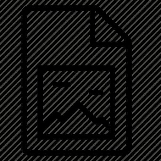 document, image, mime type icon