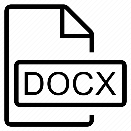 docx, mime type icon