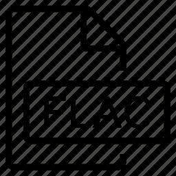 flac, mime type icon