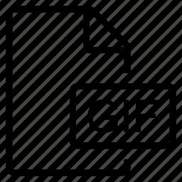 gif, mime type icon
