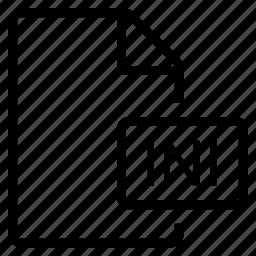 ini, mime type icon