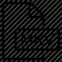 mime type, mkv icon