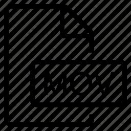 mime type, mov icon
