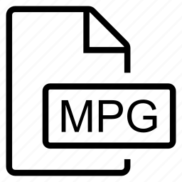 mime type, mpg icon
