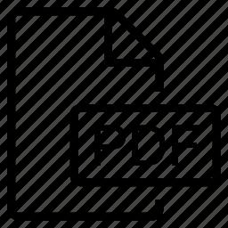mime type, pdf icon