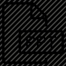 mime type, ppt icon