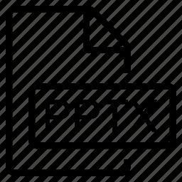 mime type, pptx icon