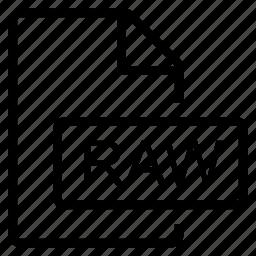 mime type, raw icon