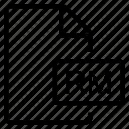 mime type, rm icon