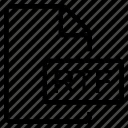 mime type, rtf icon