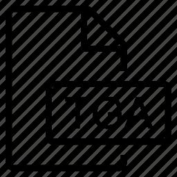 mime type, tga icon