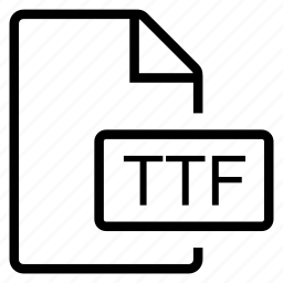 mime type, ttf icon