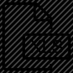 mime type, xls icon
