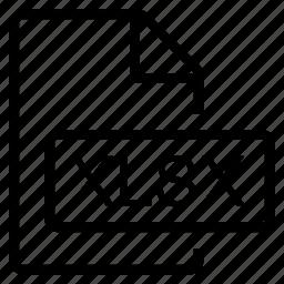 mime type, xlsx icon