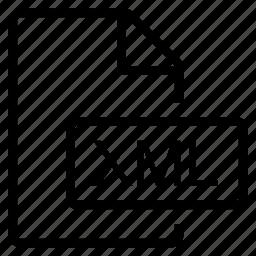 mime type, xml icon