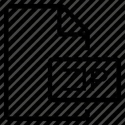 mime type, zip icon