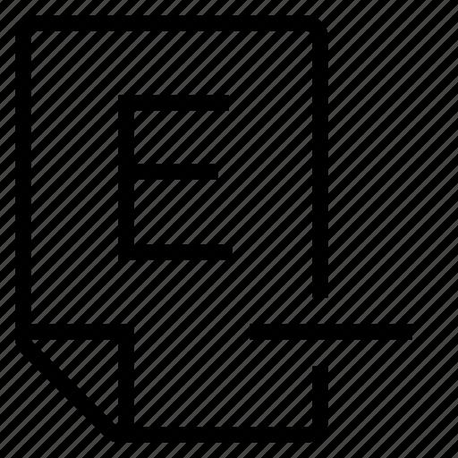 mark, mark e- icon