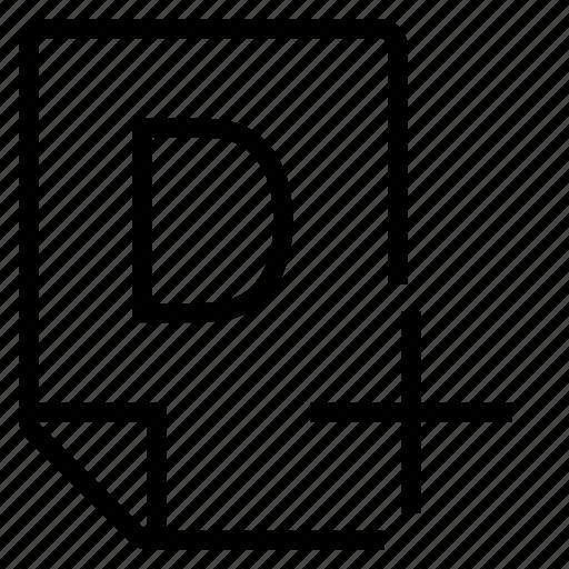 mark, mark d+ icon