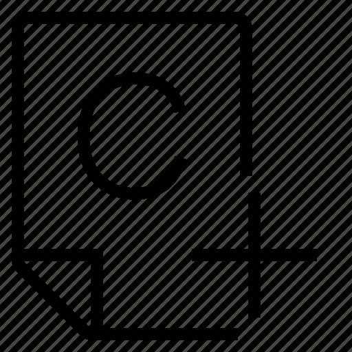 mark, mark c+ icon