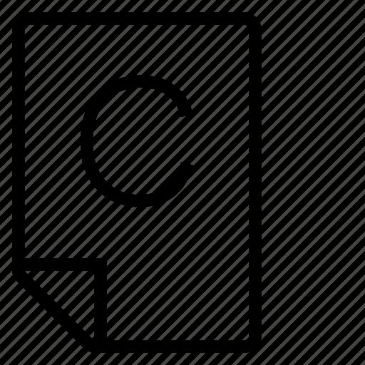 mark, mark c icon
