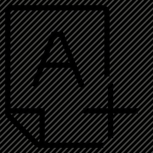 mark, mark a+ icon