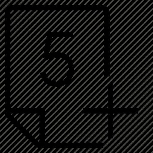 mark, mark 5+ icon