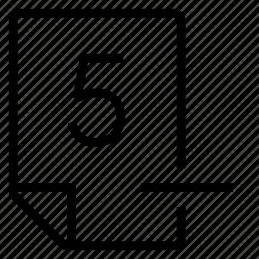 mark, mark 5- icon