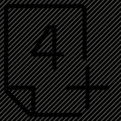 mark, mark 4+ icon