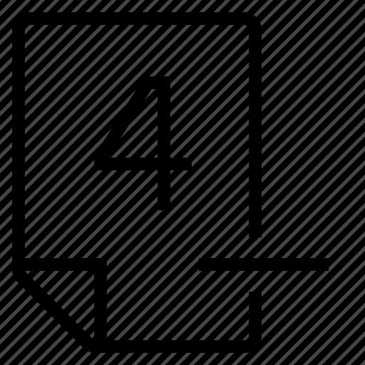 mark, mark 4- icon