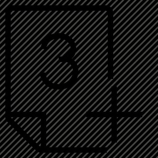 mark, mark 3+ icon