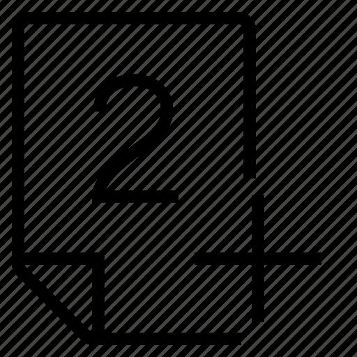 mark, mark 2+ icon