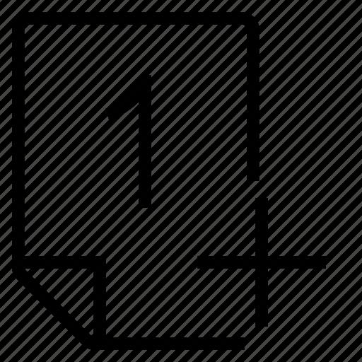 mark, mark 1+ icon