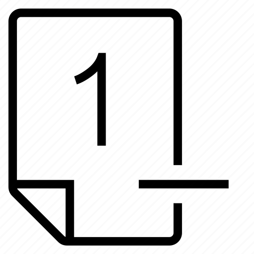 mark, mark 1- icon
