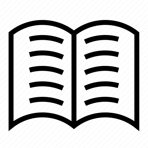 book, list, pages icon