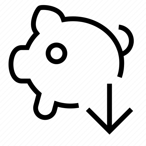 payment, pig, piggy-bank icon
