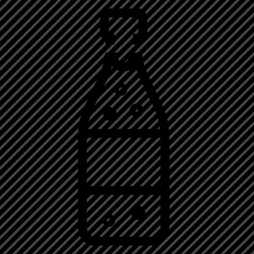 champagne, wine icon