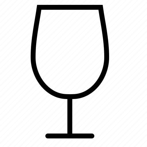 glass, goblet, wineglass icon