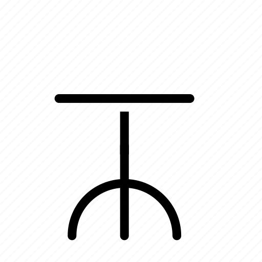 chair, round icon