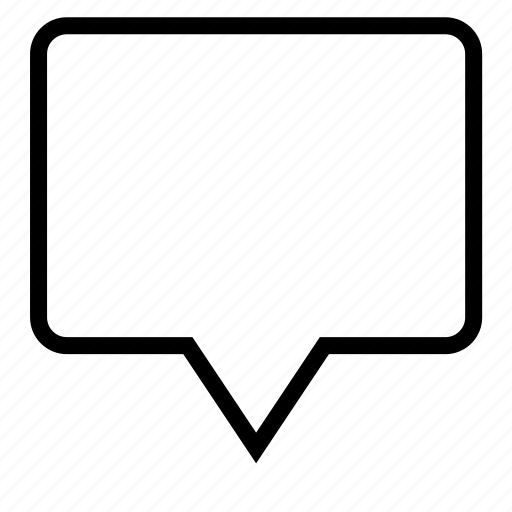 Message, comments icon