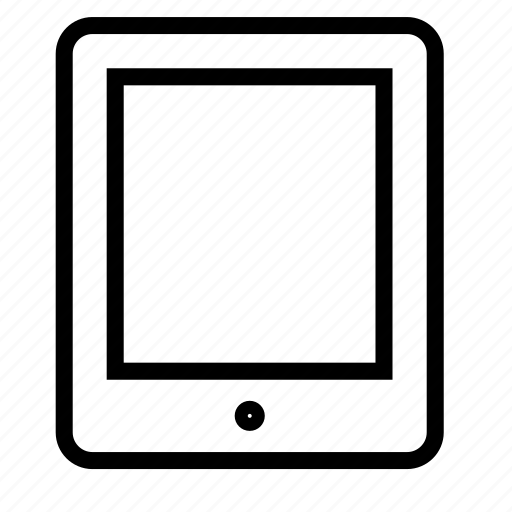 smartphone, tablet icon