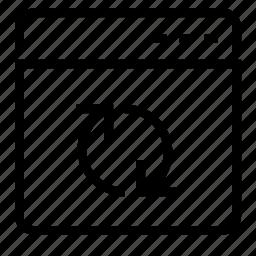 refresh, window icon