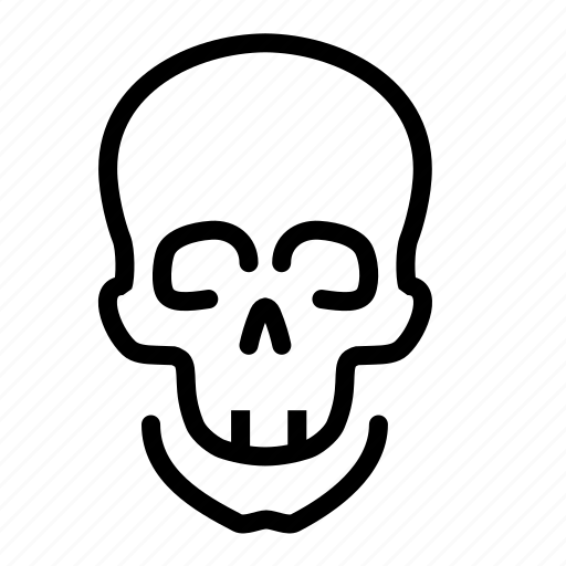 danger, poison, skull icon