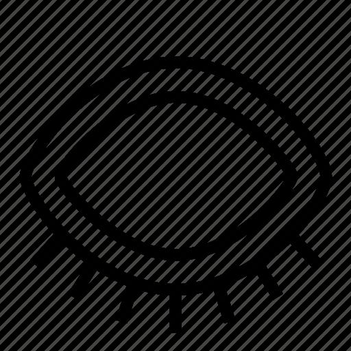 eye, sleep icon