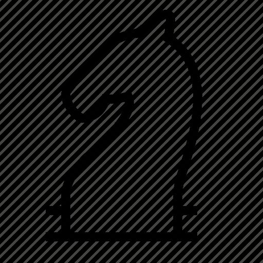 chess, horse icon