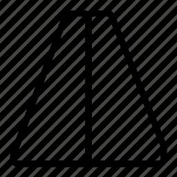 horizontal, mirror icon