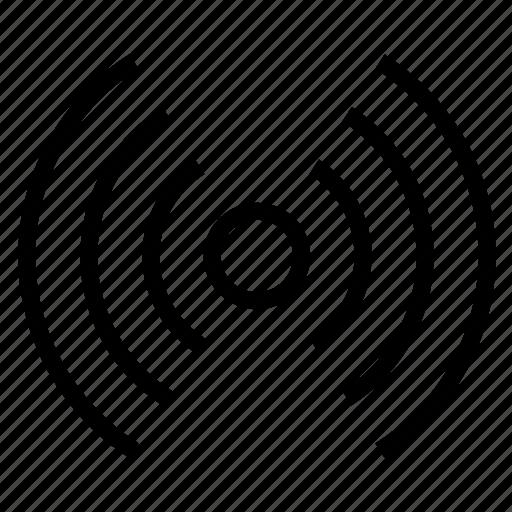 milice, police, signal, wi-fi icon