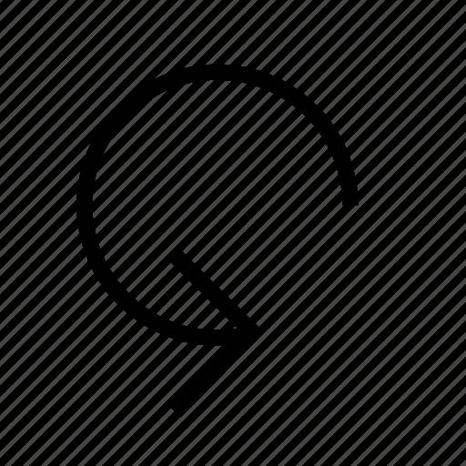 ccw, rotate icon