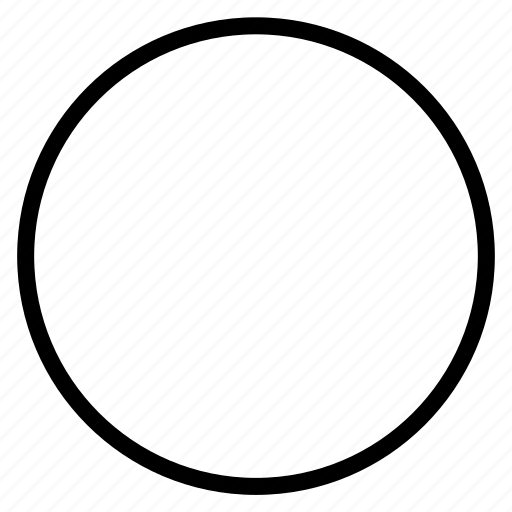 circle, shape icon