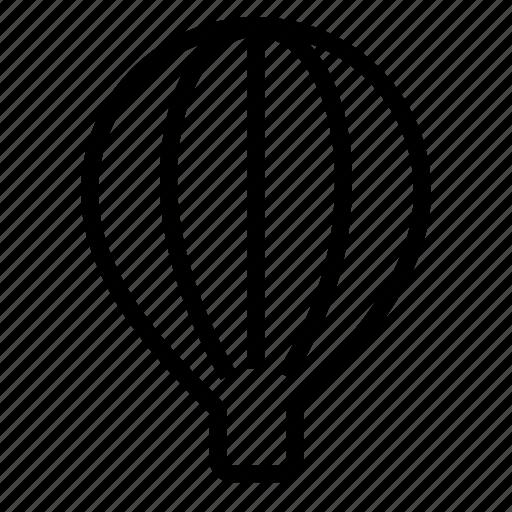 air, air baloon, baloon icon