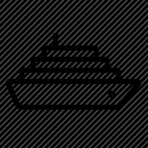ship, yacht icon